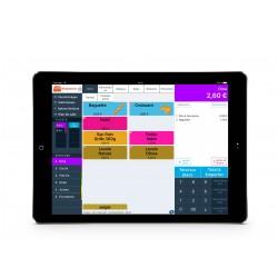 Caisse enregistreuse iPad certifiée boulangerie