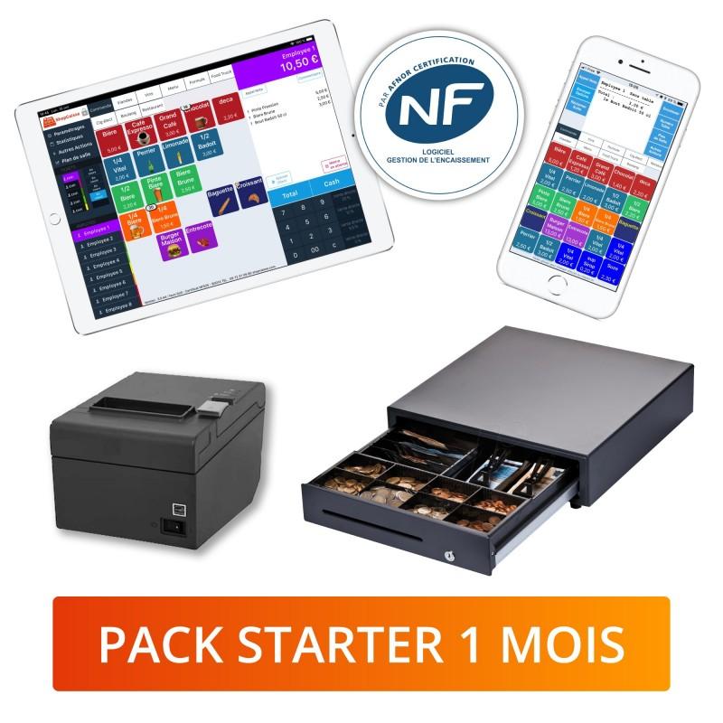 pack logiciel de caisse iPad certifié NF525 pour tous types de commerce